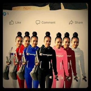 Champions jogging suits
